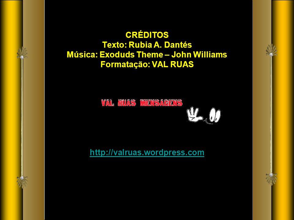 CRÉDITOS Texto: Rubia A.