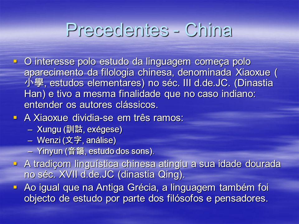 Precedentes - China