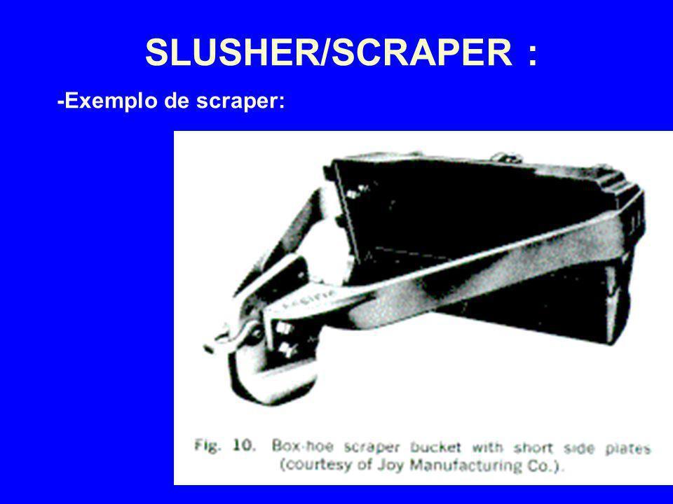 4/2/2017 SLUSHER/SCRAPER : -Exemplo de scraper: