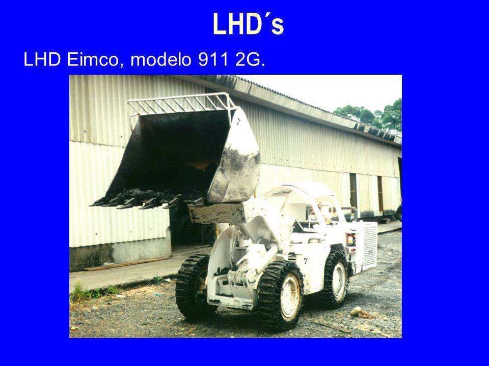 LHD´s 4/2/2017 LHD Eimco, modelo 911 2G.