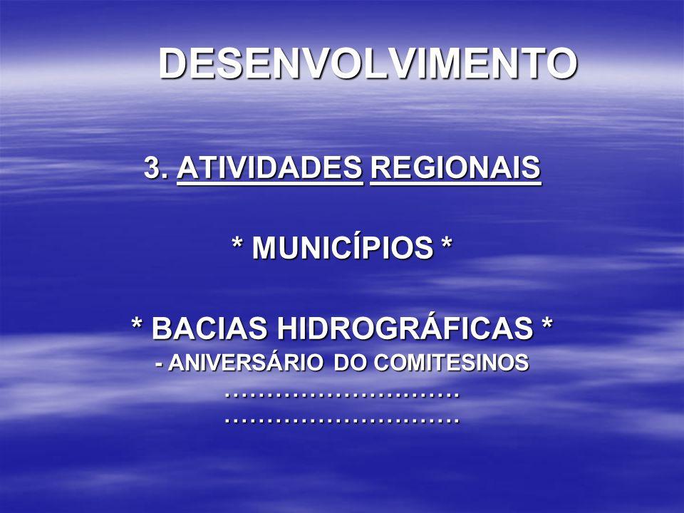 * BACIAS HIDROGRÁFICAS *