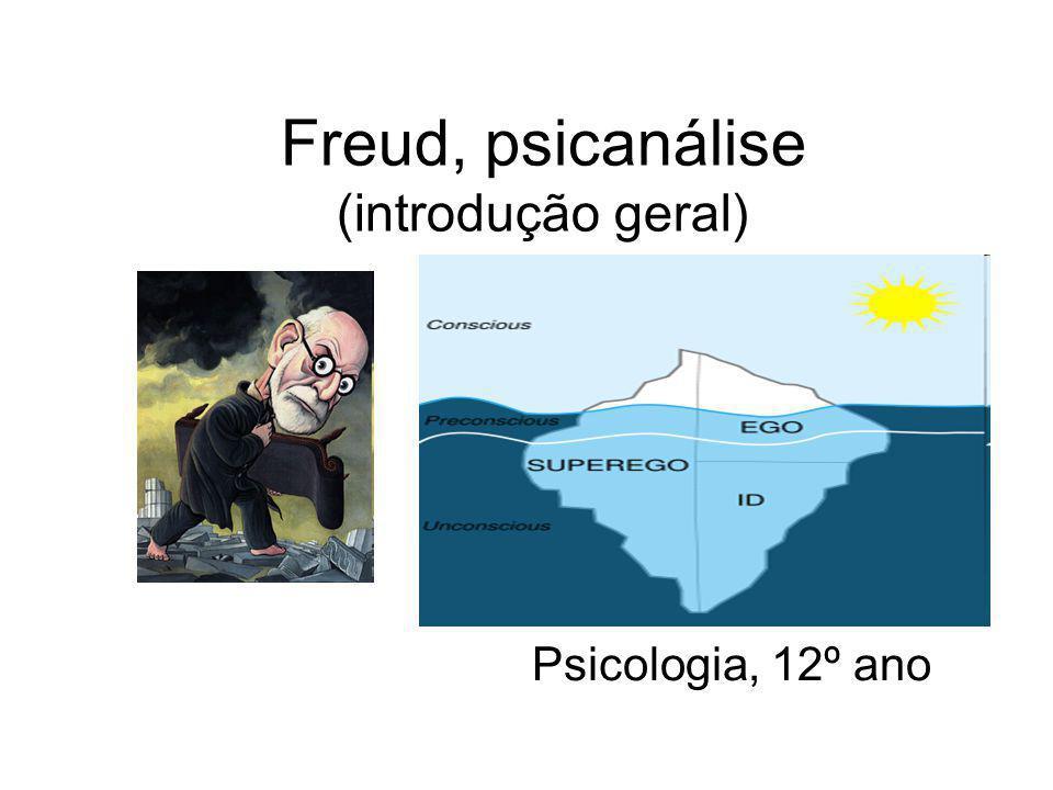 Freud, psicanálise (introdução geral)