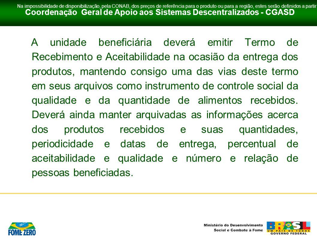 Coordenação Geral de Apoio aos Sistemas Descentralizados - CGASD