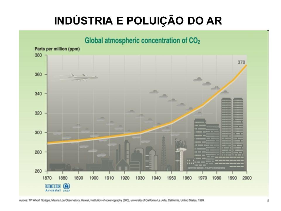 INDÚSTRIA E POLUIÇÃO DO AR