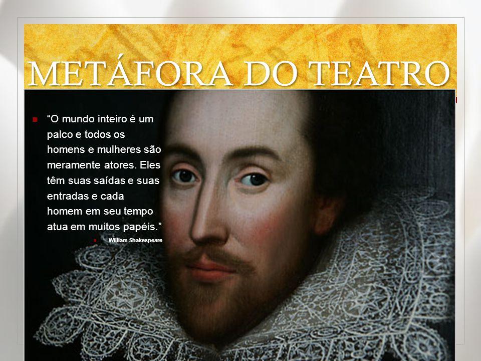 METÁFORA DO TEATRO