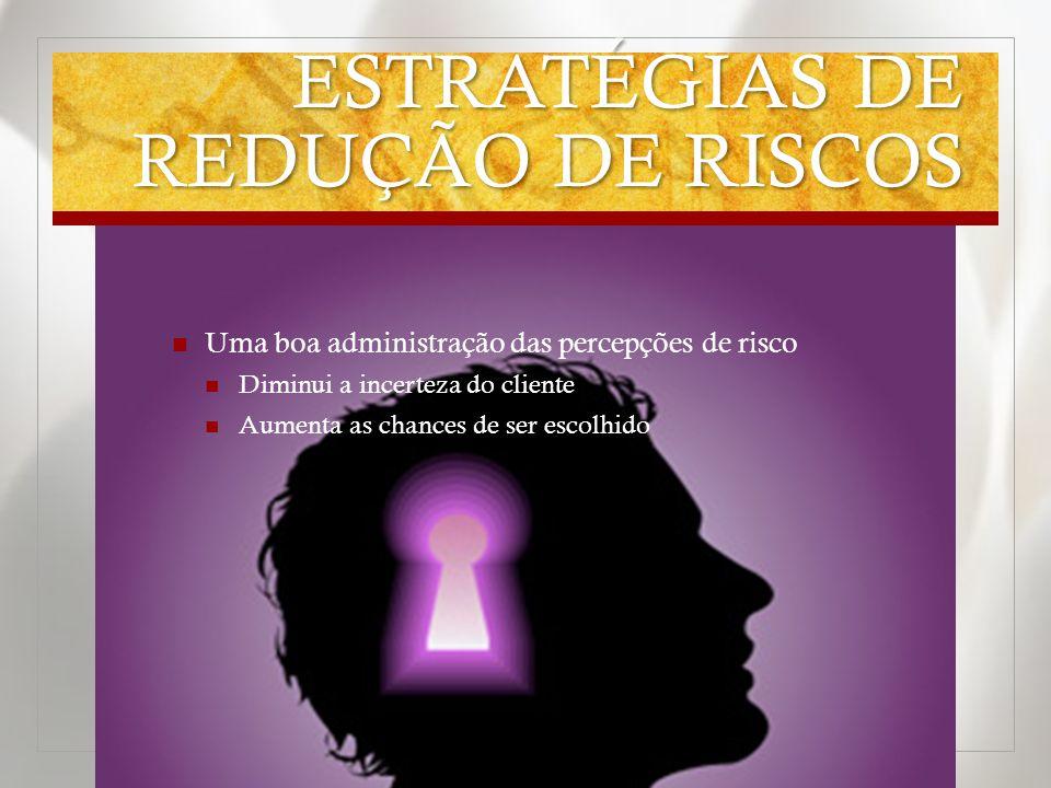 ESTRATÉGIAS DE REDUÇÃO DE RISCOS