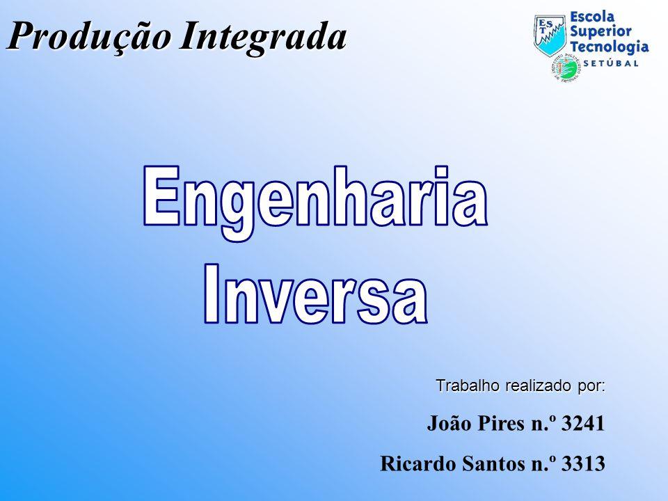 Engenharia Inversa Produção Integrada João Pires n.º 3241