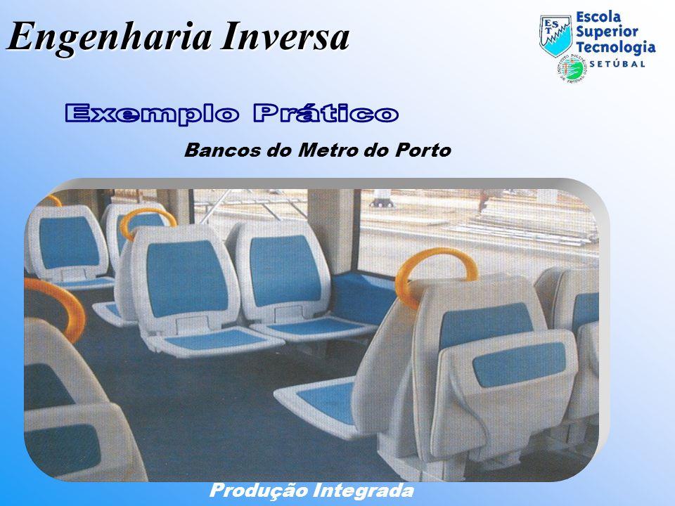 Bancos do Metro do Porto