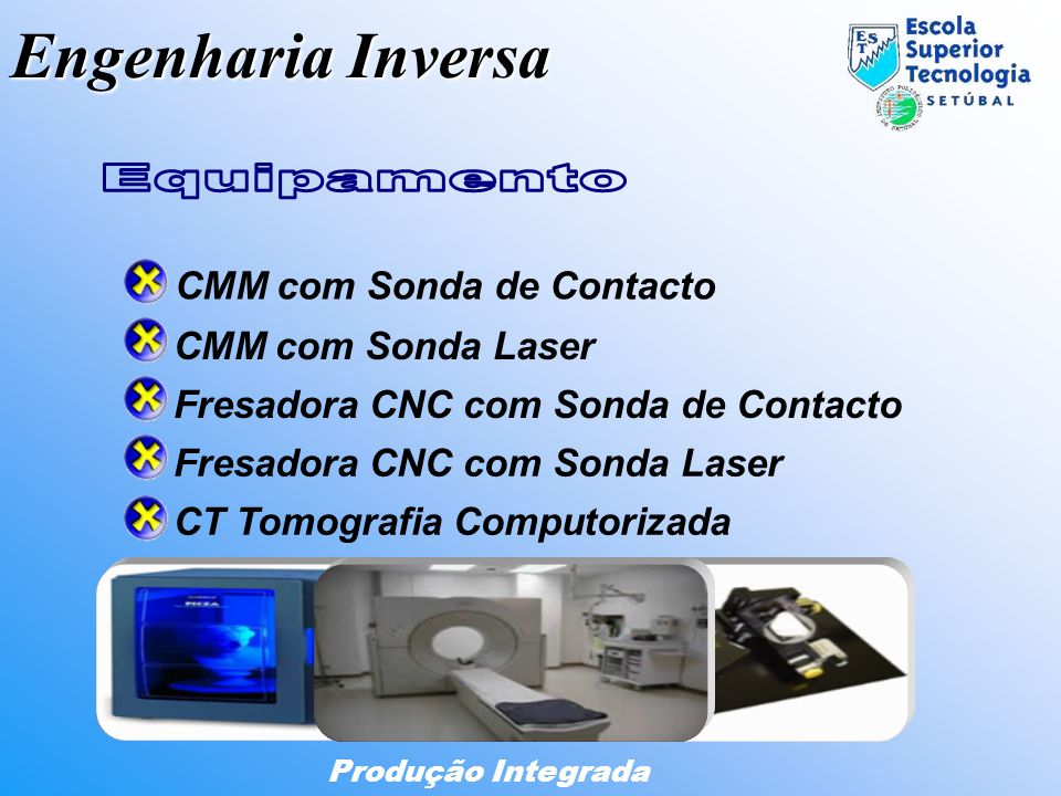 Engenharia Inversa Equipamento CMM com Sonda de Contacto