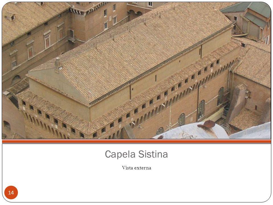 Capela Sistina Vista externa
