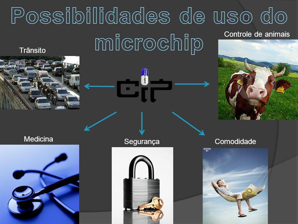 Possibilidades de uso do microchip