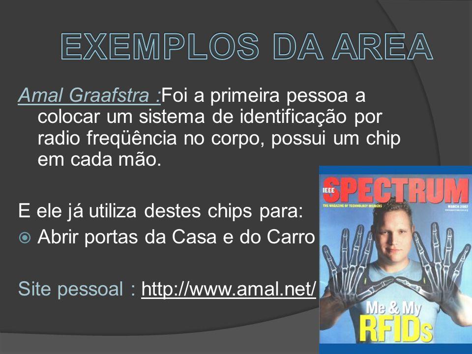 EXEMPLOS DA AREA