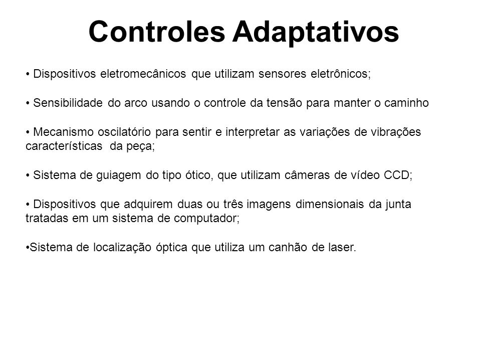 Controles Adaptativos