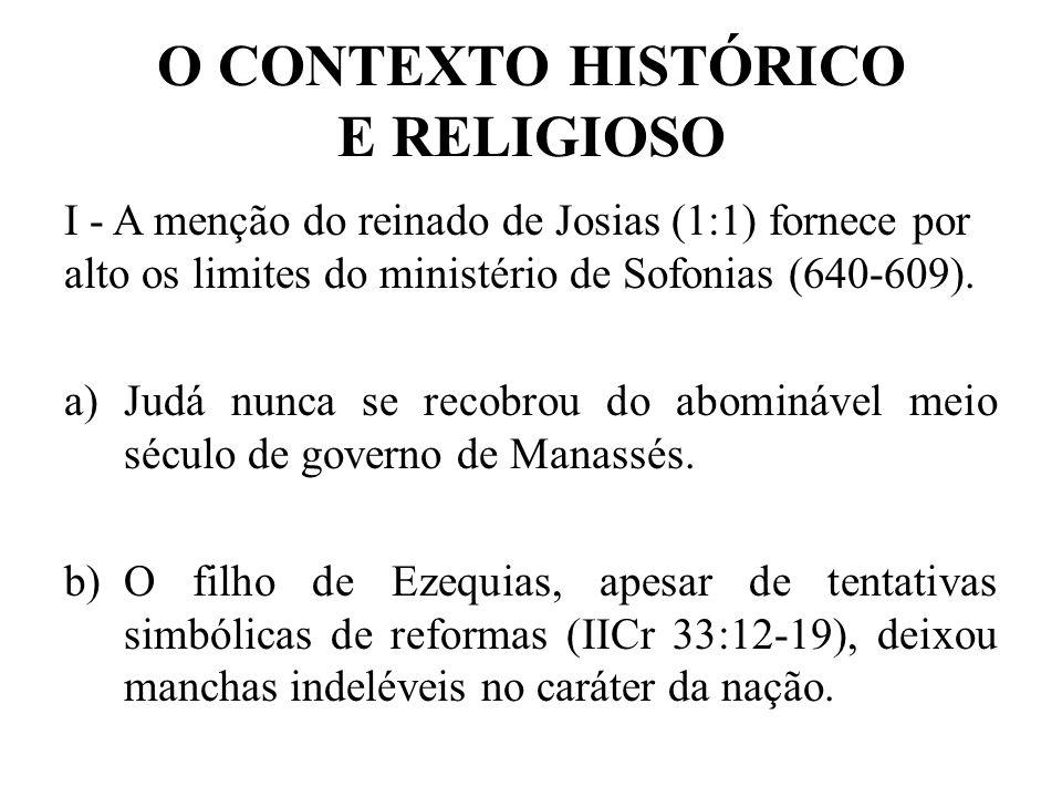 O Contexto Histórico e Religioso