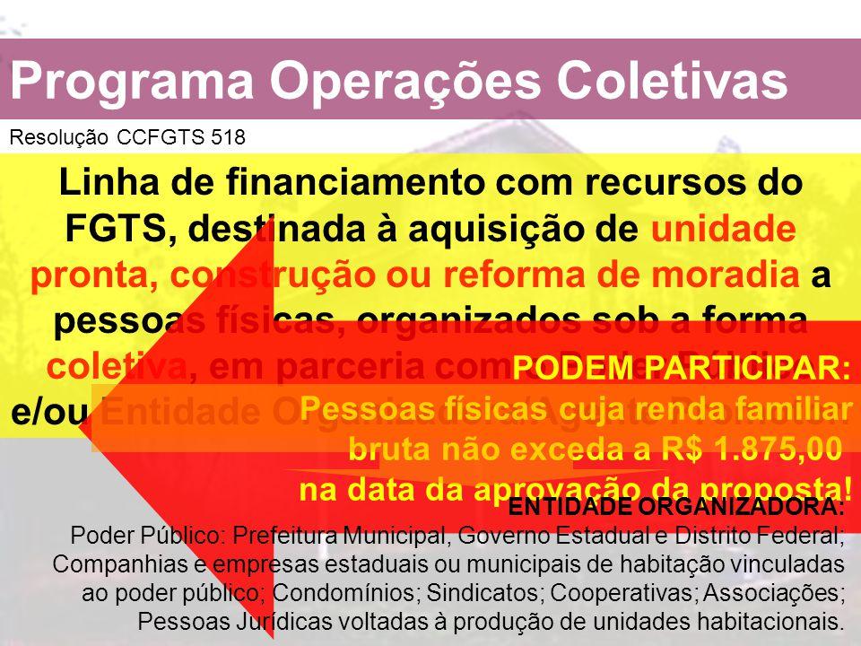 Programa Operações Coletivas