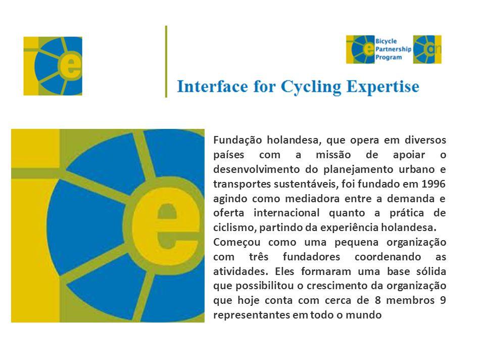 Fundação holandesa, que opera em diversos países com a missão de apoiar o desenvolvimento do planejamento urbano e transportes sustentáveis, foi fundado em 1996 agindo como mediadora entre a demanda e oferta internacional quanto a prática de ciclismo, partindo da experiência holandesa.