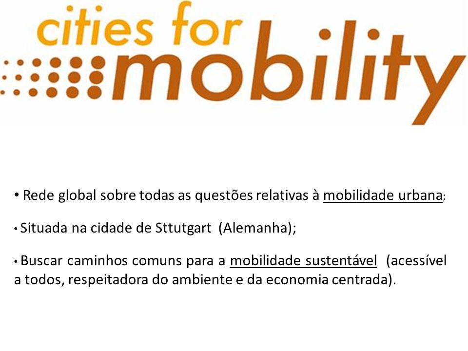 Rede global sobre todas as questões relativas à mobilidade urbana;