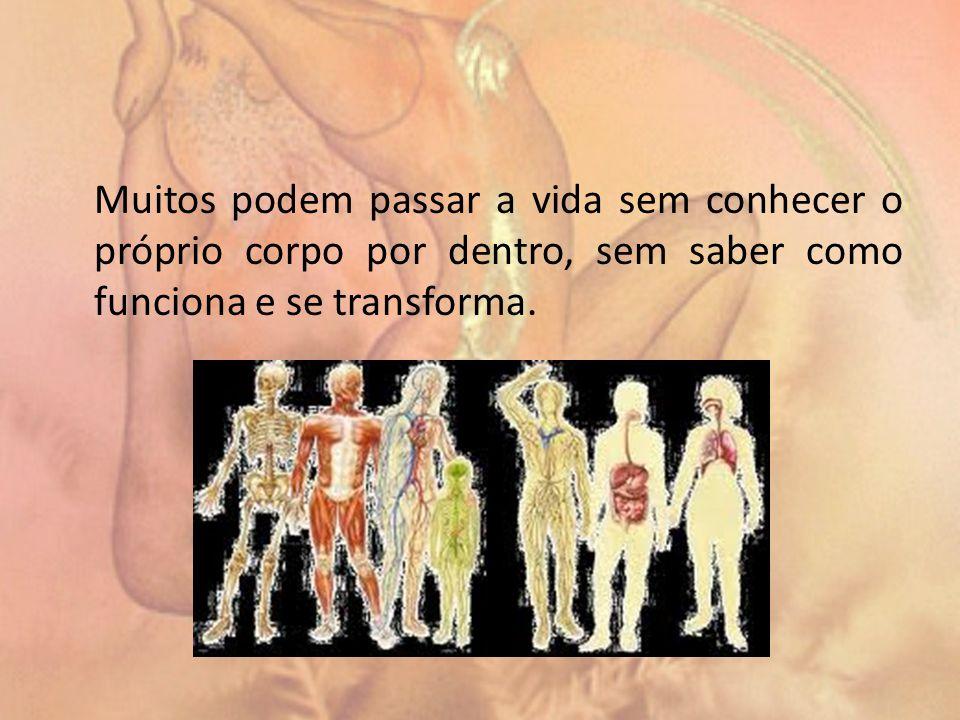 Muitos podem passar a vida sem conhecer o próprio corpo por dentro, sem saber como funciona e se transforma.