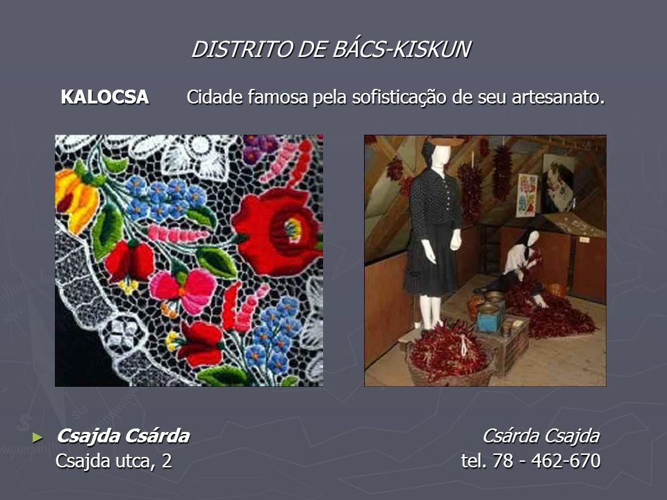 DISTRITO DE BÁCS-KISKUN KALOCSA