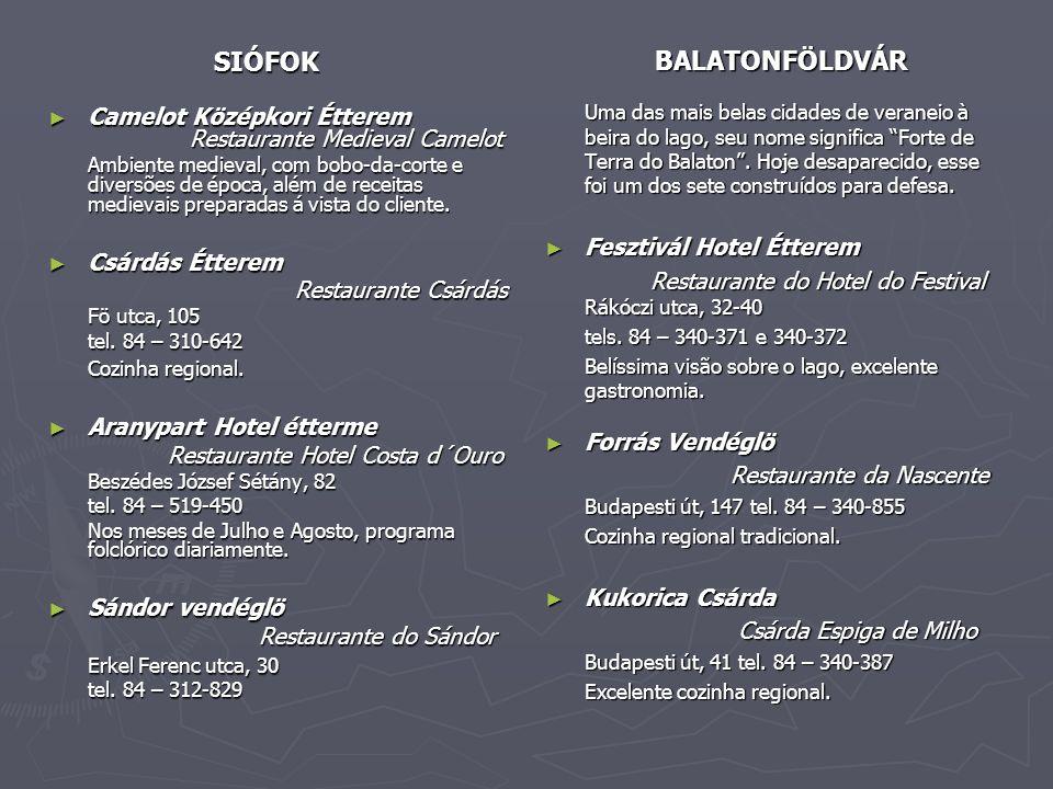 SIÓFOK Fesztivál Hotel Étterem