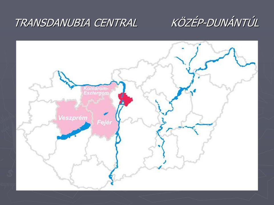TRANSDANUBIA CENTRAL KÖZÉP-DUNÁNTÚL