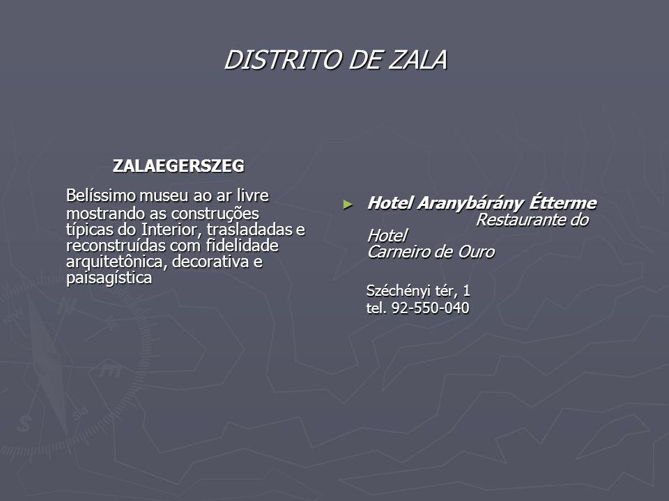 DISTRITO DE ZALA ZALAEGERSZEG.