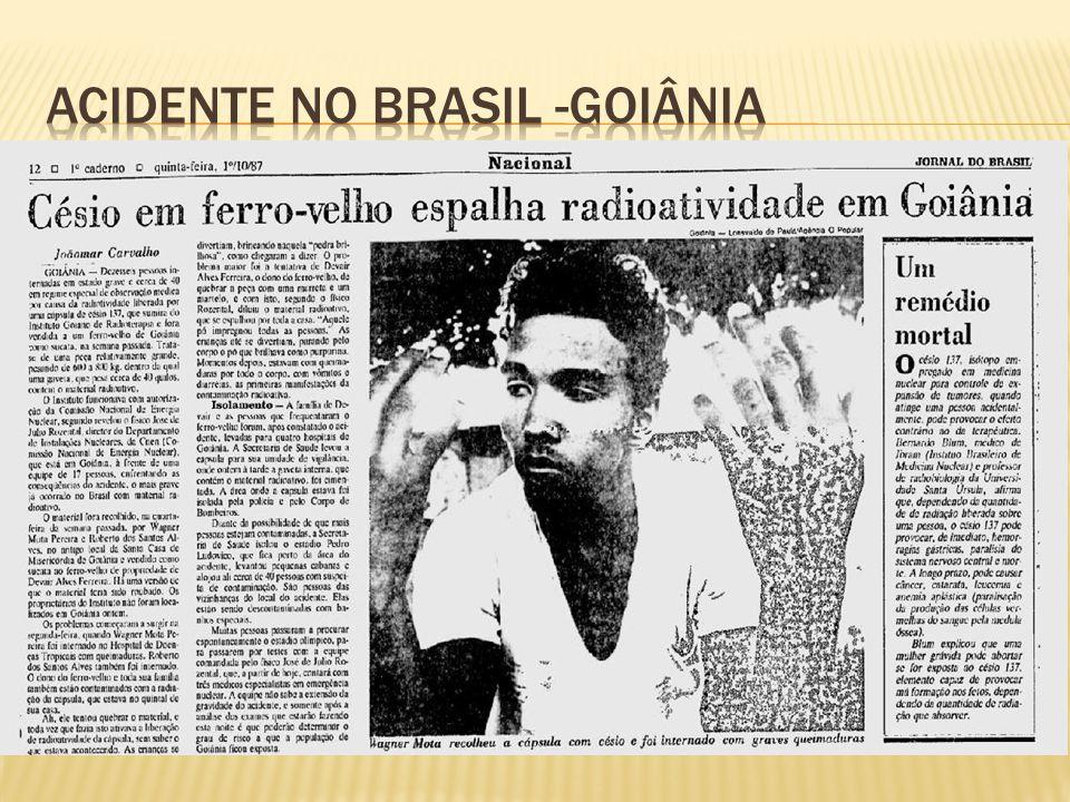 Acidente no brasil -Goiânia