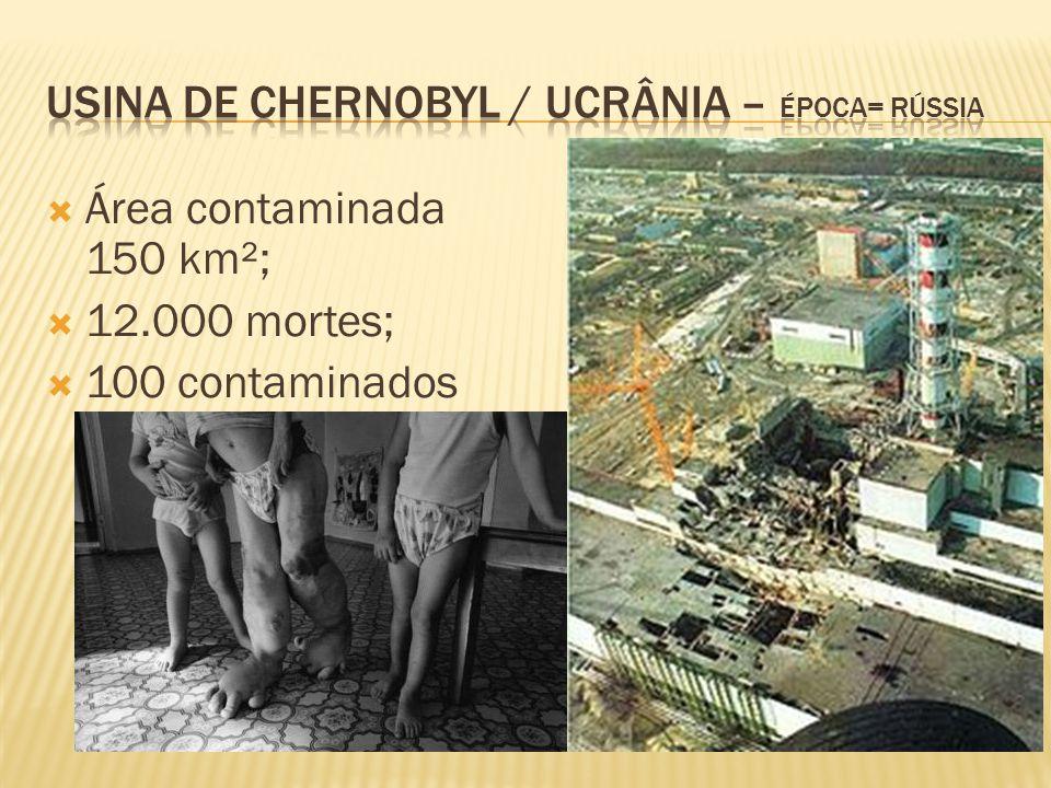 Usina de Chernobyl / ucrânia – época= rússia