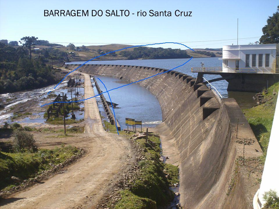 BARRAGEM DO SALTO - rio Santa Cruz