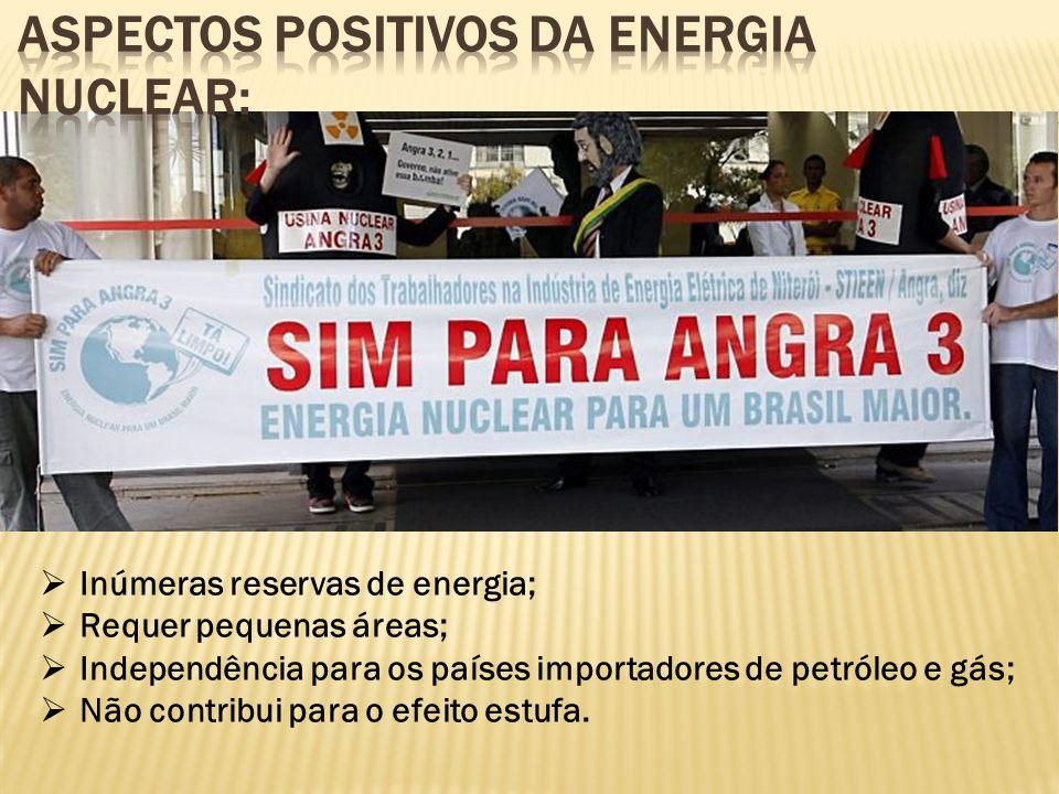 Aspectos positivos da energia nuclear: