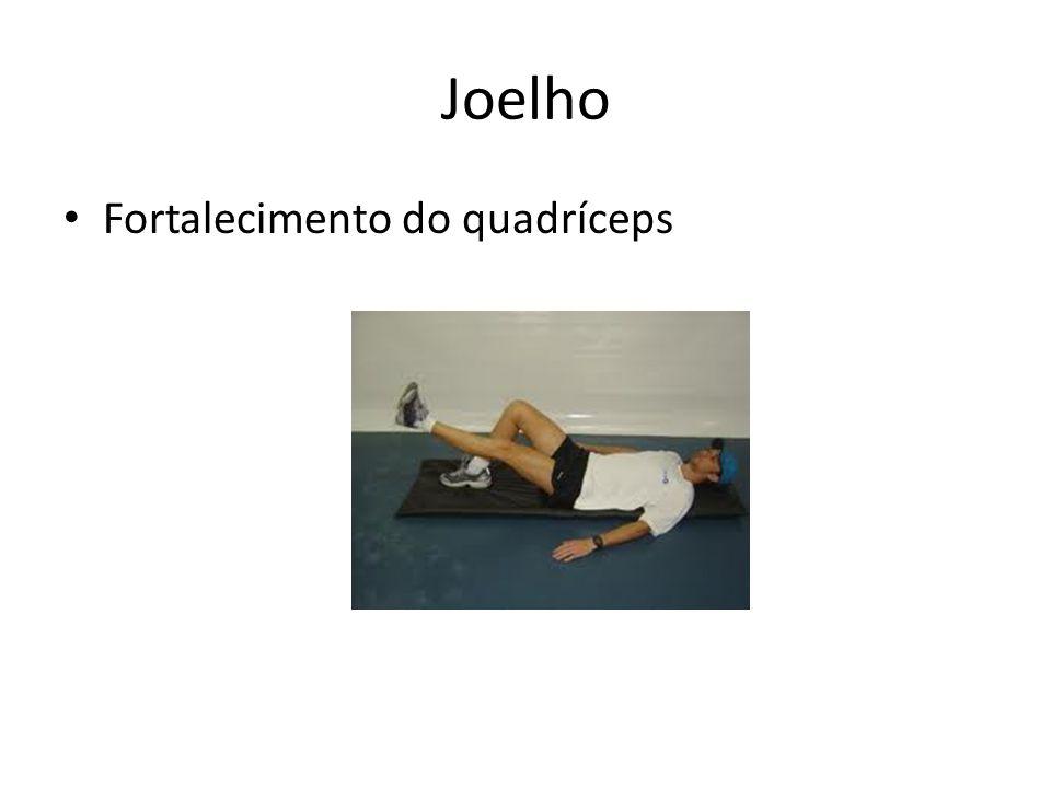 Joelho Fortalecimento do quadríceps