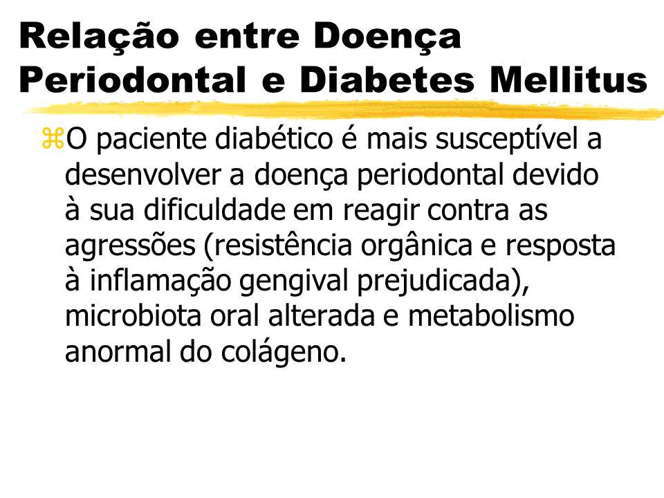 Relação entre Doença Periodontal e Diabetes Mellitus