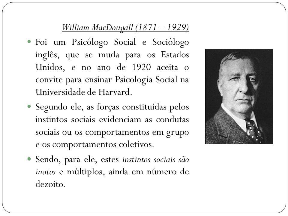 William MacDougall (1871 – 1929)