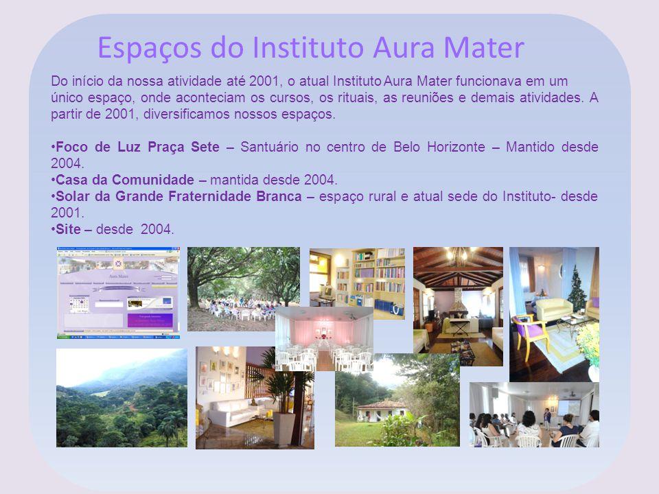 Espaços do Instituto Aura Mater