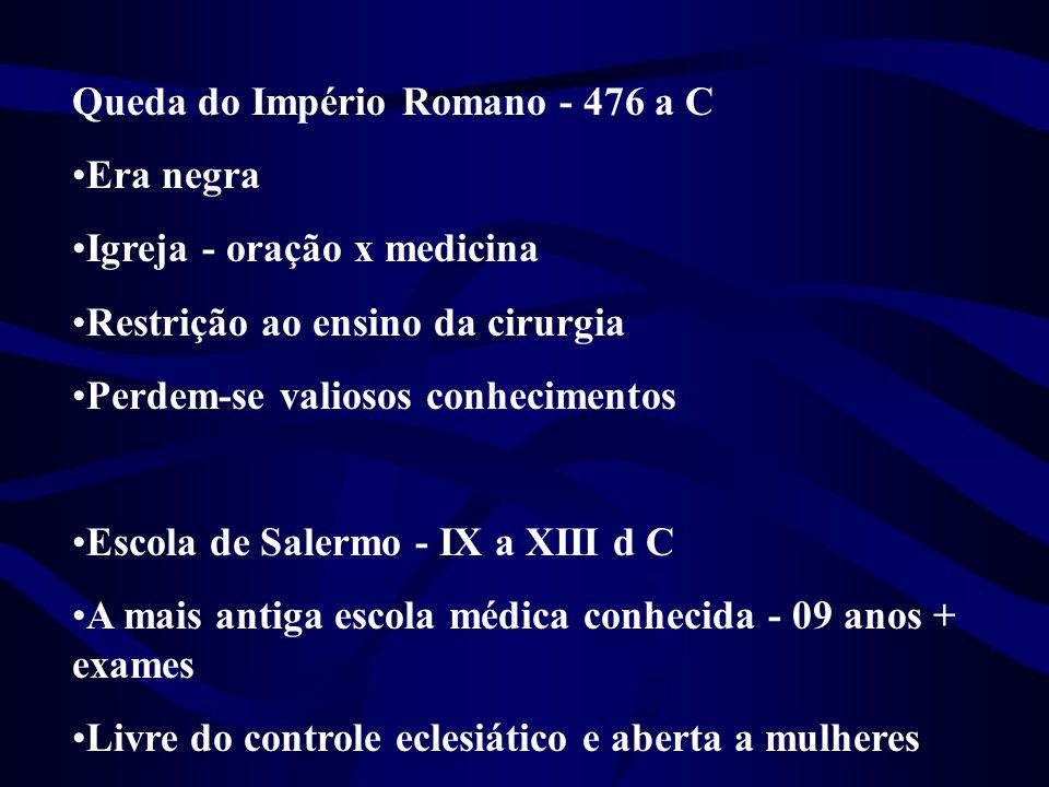 Queda do Império Romano - 476 a C