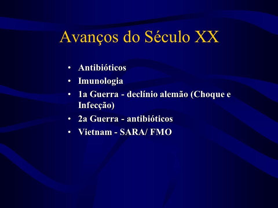Avanços do Século XX Antibióticos Imunologia