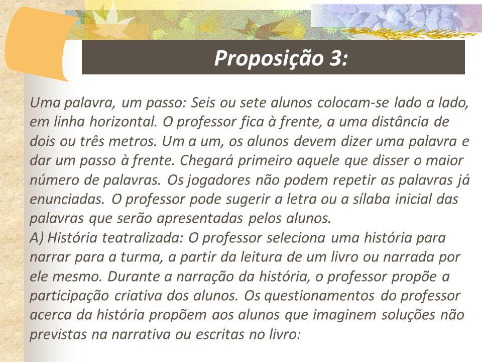 Proposição 3: