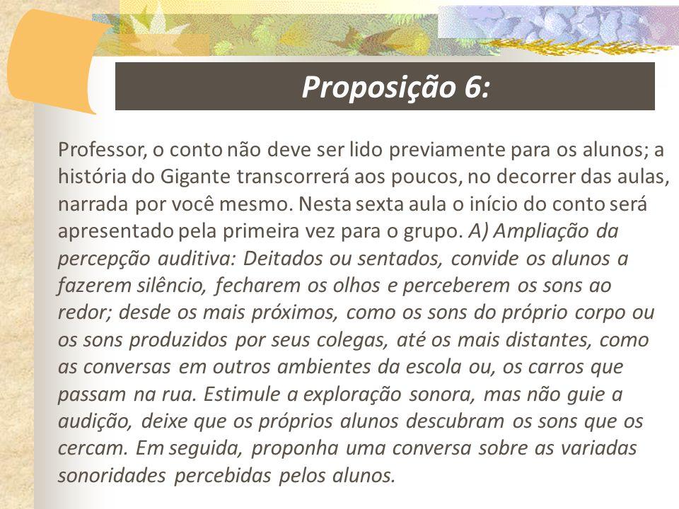 Proposição 6: