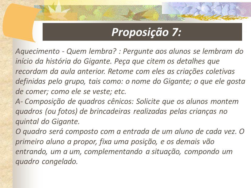 Proposição 7: