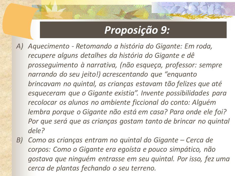 Proposição 9: