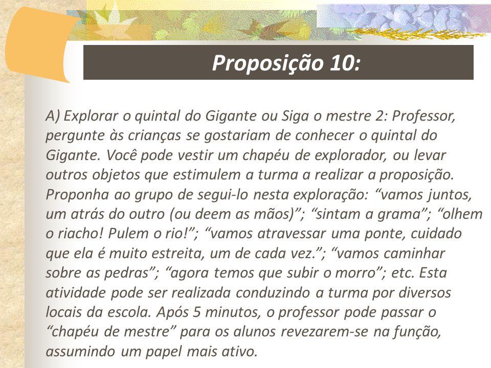 Proposição 10: