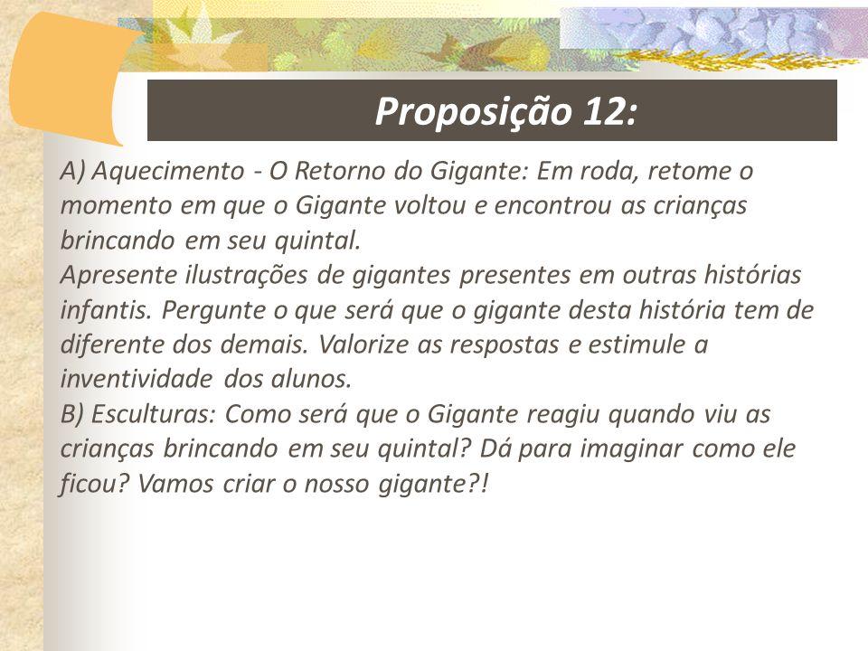 Proposição 12: