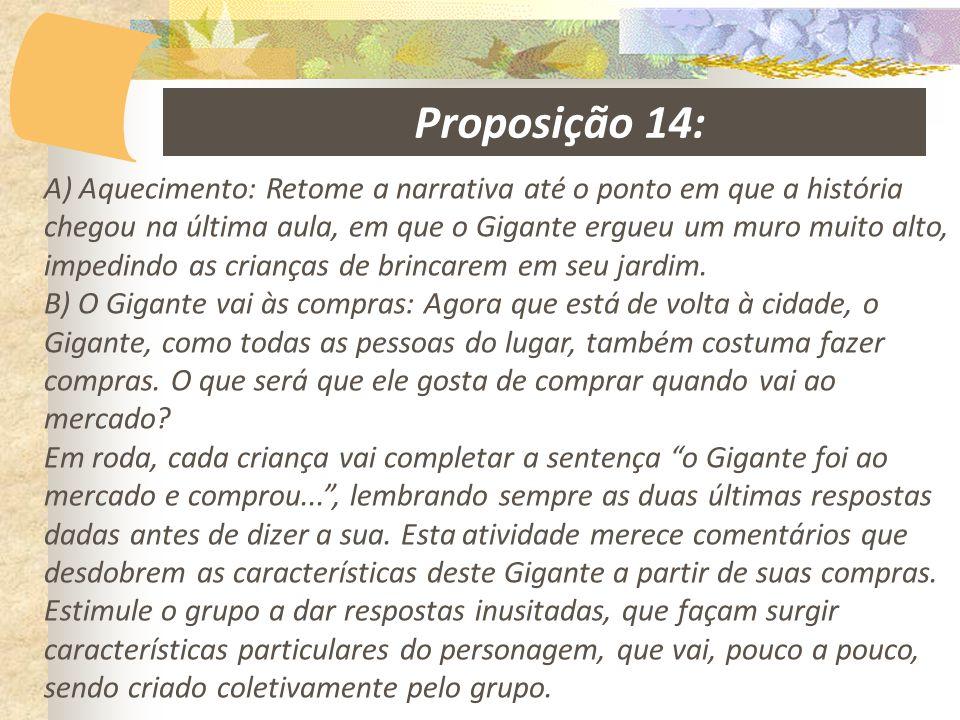 Proposição 14: