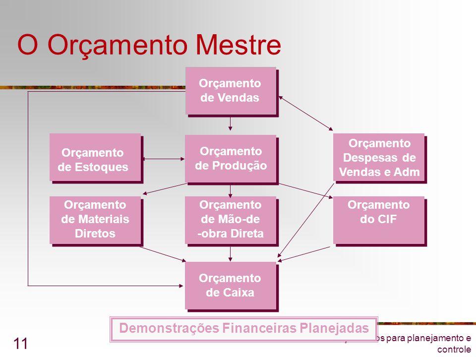 Demonstrações Financeiras Planejadas
