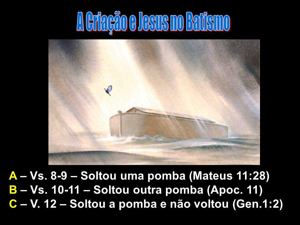 A Criação e Jesus no Batismo