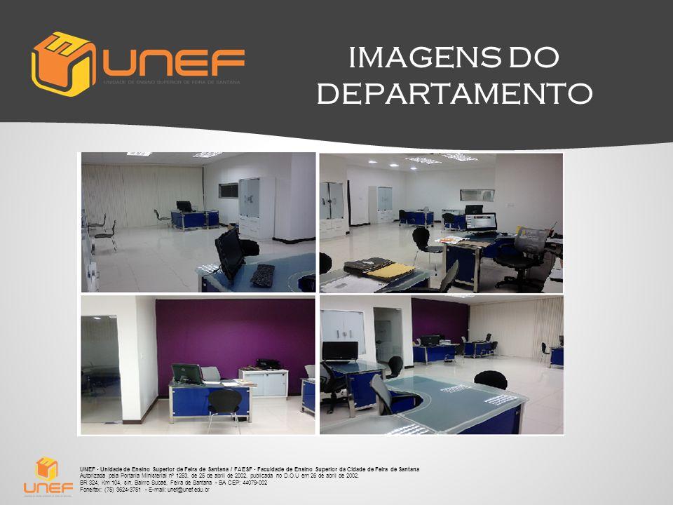 IMAGENS DO DEPARTAMENTO