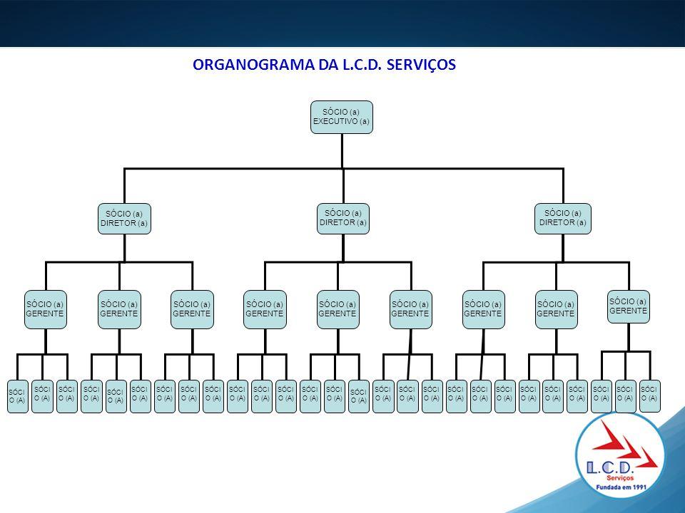ORGANOGRAMA DA L.C.D. SERVIÇOS