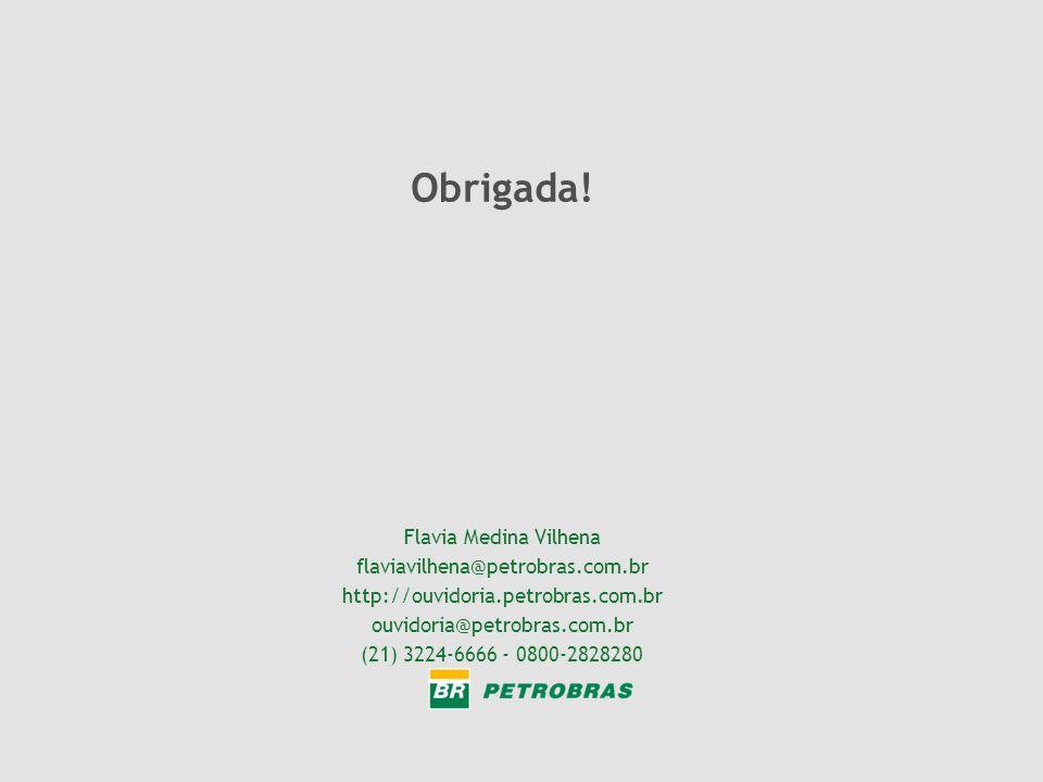 Flavia Medina Vilhena flaviavilhena@petrobras.com.br