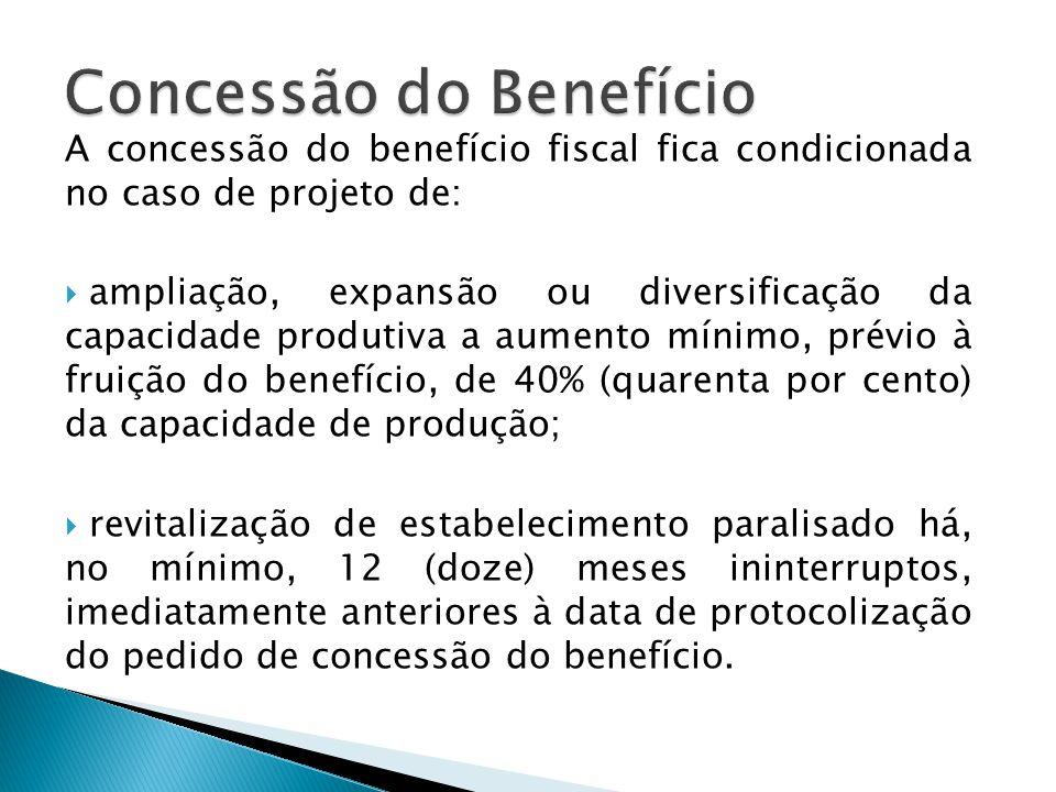 Concessão do Benefício