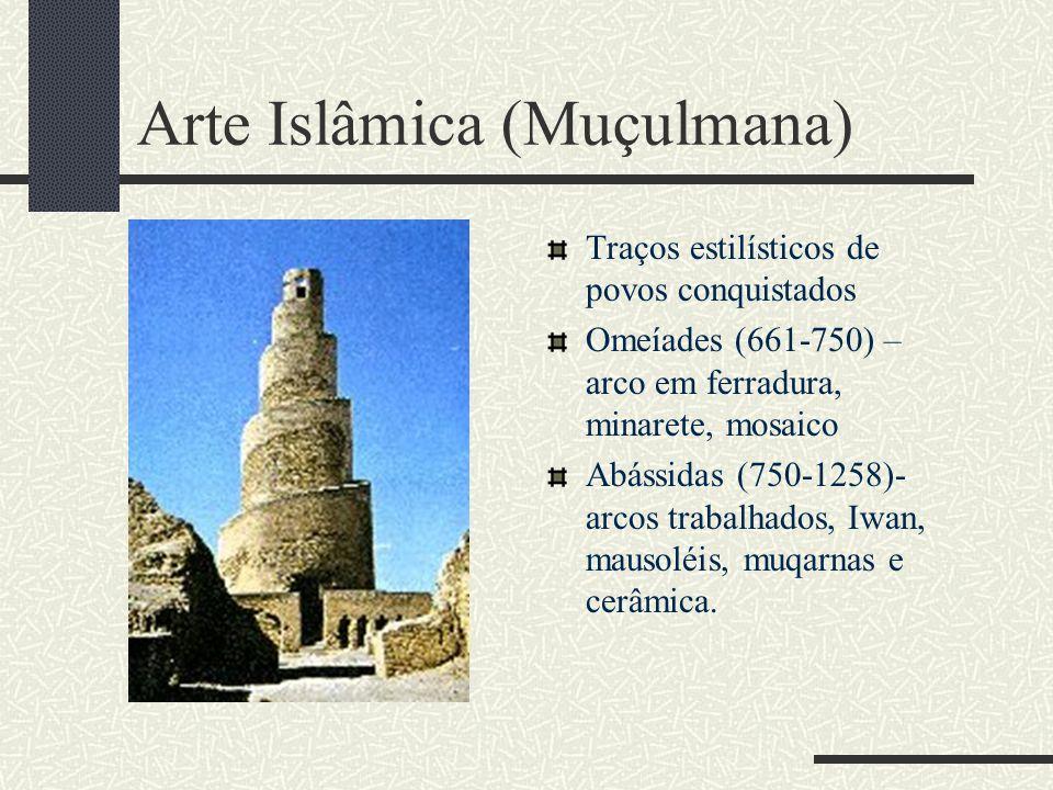 Arte Islâmica (Muçulmana)
